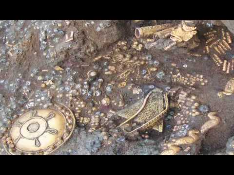 Spectacular Ancient tomb treasures from the Republic of Georgia kingdom of Colchis
