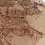 300-year-old temple buried in the sand, excavated in Southeastern India