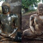 Jain Idol Found By Farmer While Ploughing Fields In Southern India