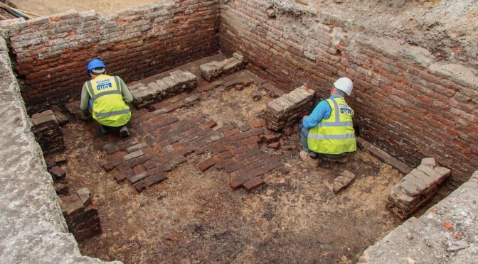 Possible Elizabethan Playhouse Unearthed in London