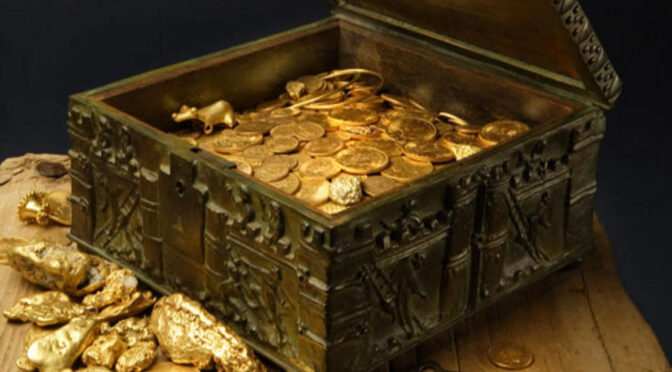 Treasure worth over $1 million found in the Rocky Mountains after a 10-year search