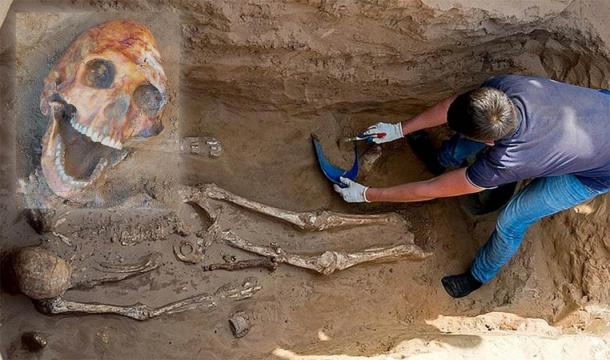Ancient Sarmatian Warrior Unearthed During Russian Road Works