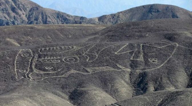 Gigantic 2,000-Year-Old Geoglyph of an Orca Is One of the Earliest in Peru