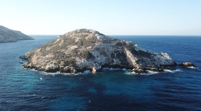 The origin of Greek Civilization on a Pyramid Island