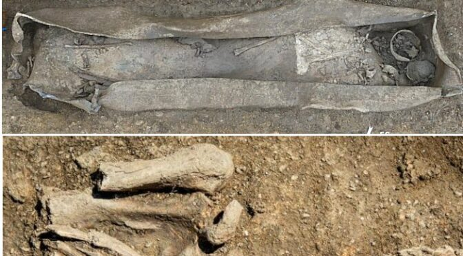 Ancient Necropolis With Lead Coffins Sheds Light On Early Christian Funeral Practices