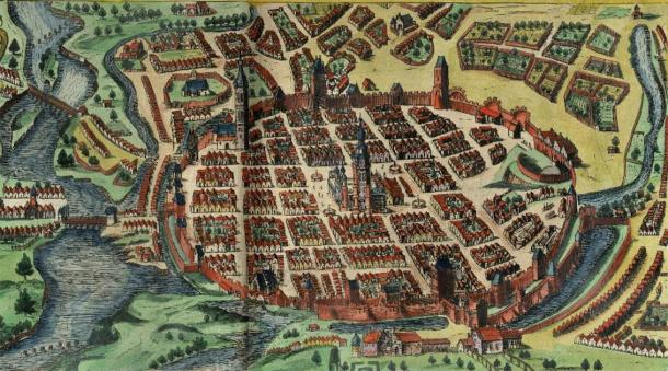 Massive Polish Fort Walls Over 100 Feet Wide Indicate Medieval Capital