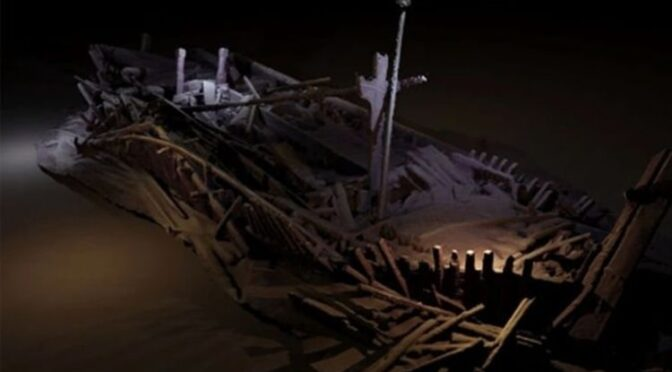 Archaeology breakthrough: Astounding discovery of Arctic shipwreck 'frozen in time'