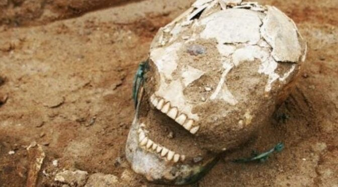 1,000-year-old Christian cemetery yields terrifying discoveries