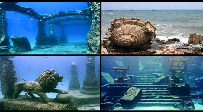 India: Archaeologists found 9,000 years old city beneath the surface of modern-day Dwarka