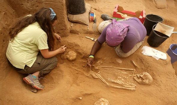 Archaeologists unearth third-century' human mountains'