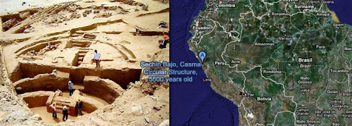 Archaeologists Find 5,500-year-old Plaza in Peru