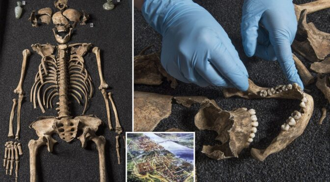 Chinese skeletons found in roman cemetery promise to rewrite history