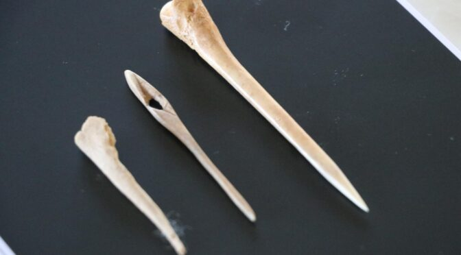 8,600 years old Textile tools found in western Turkey