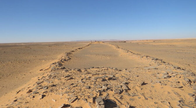 7,000 Years old Stone Structures Investigated in Saudi Arabia