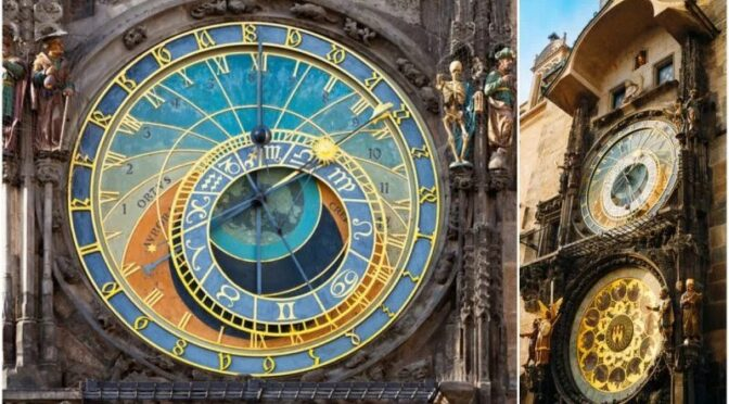 This Astronomical Clock is 6 centuries old and still ticks in Prague