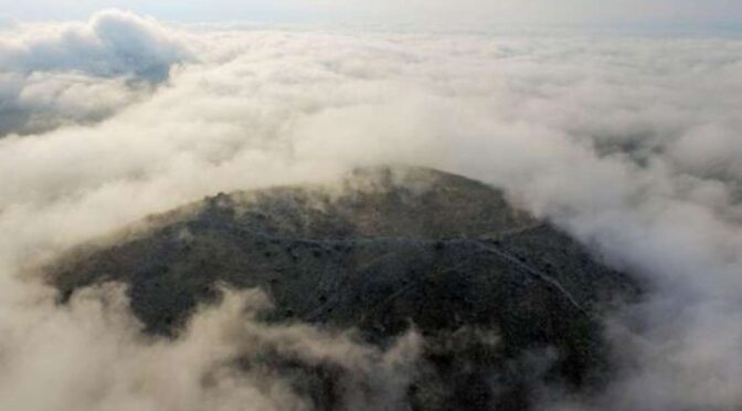 2,500-Year-Old Lost City Atop a Greek Mountain Peak discovered by archaeologists