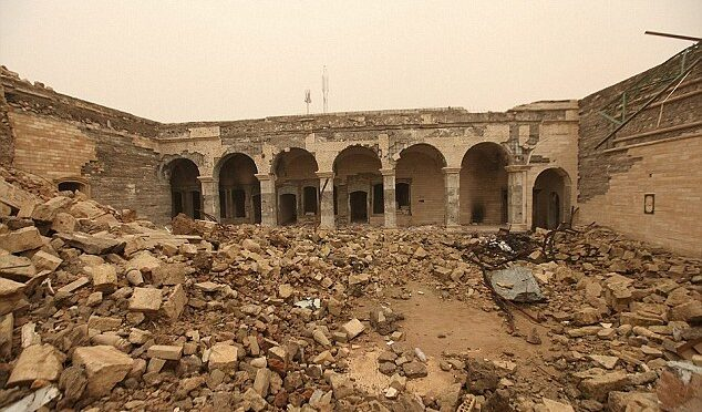 The 2,600-Year-old palace is found buried under the ruins of a shrine blown up by Isis in Mosul