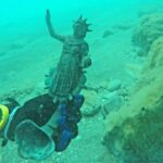 A 1,600-year-old cargo of a Roman merchant ship has been discovered in cesarea