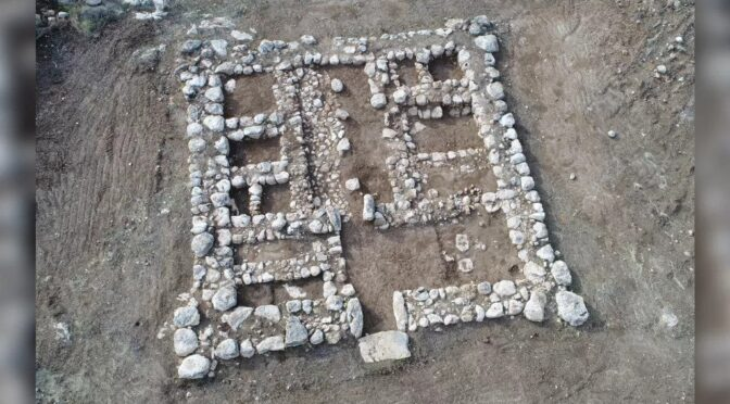 3,200-year-old Egyptian built fortress found in Israel