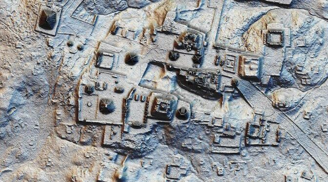 1,000-year-old 'lost' pyramid city in the heart of Mexico was as densely built as Manhattan