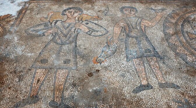 Rare mosaics of a Christian church were unearthed in Turkey