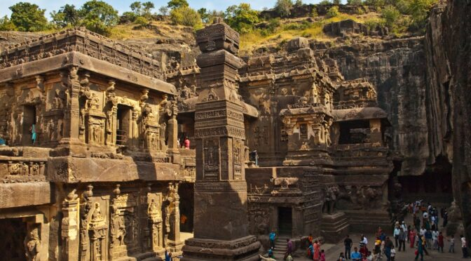 8th-Century A.D. Rock-Cut Temple Revealed in India