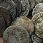 Treasure Hunter discovers £200,000 worth of ancient coins in the farmer's field