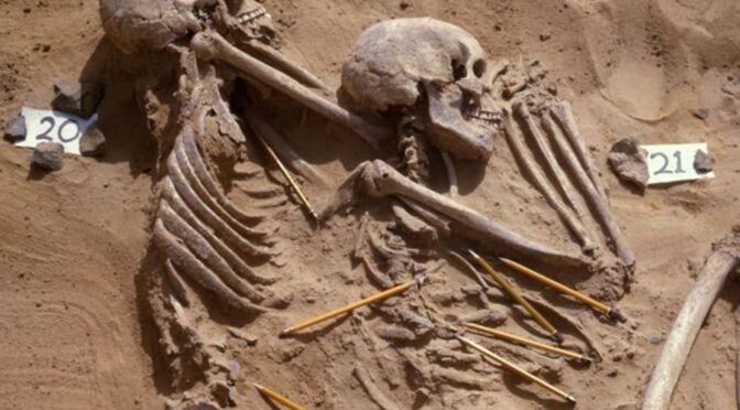Saharan remains may be evidence of first race war 13,000 years ago