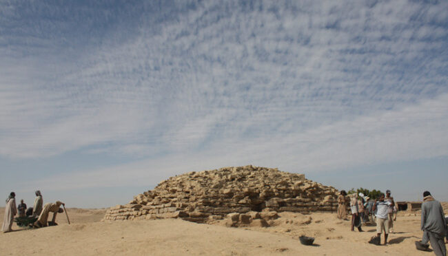Older than Giza: 4,600-year-old pyramid uncovered in Egypt