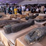 Archeologists in Egypt find 59 ancient coffins