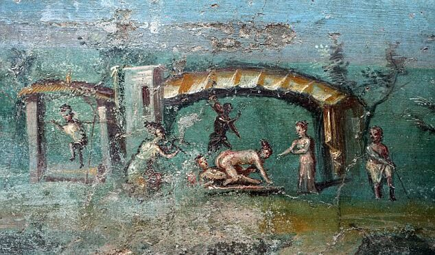 Archaeologists Discover Paintings of Ancient Egypt in a 2,000 Year Old Roman Villa in Pompeii