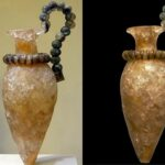C. 1450 BCE: A Minoan vase carved from rock-crystals