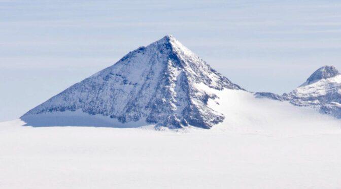 Ancient pyramid discovered in Antarctica