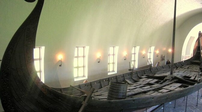 Archaeologist Discovered Viking Ship Found Under the Ground in Norway