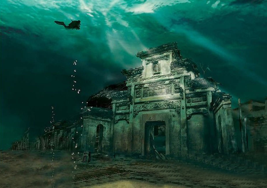 China's Atlantis: Shi Cheng an Ancient Underwater City in China