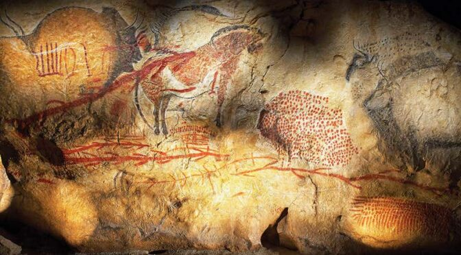 Code is hidden in Stone Age Art Maybe the Root of Human Writing