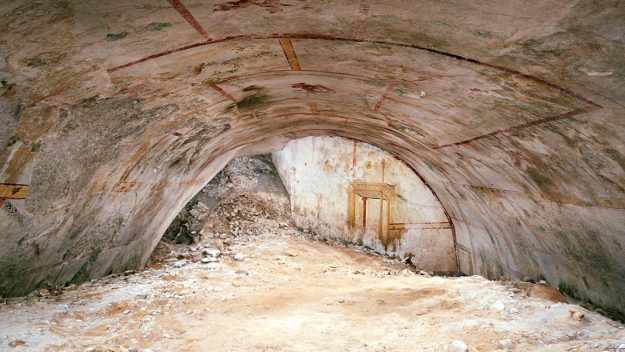 Archaeologists discover 2,000-year-old 'Sphinx Room' hidden in Emperor Nero's Golden Palace