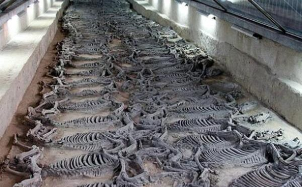 Tomb of Duke Jing of Qi and his 600 Sacrificial Horses found by Archaeologists