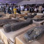 Egypt finds 59 ancient coffins buried more than 2,600 years ago