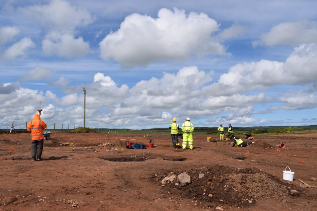 Iron Age Site Found in Scotland