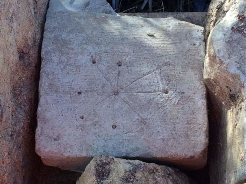 Possible Medieval Graffiti Found at Church Site in England