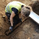Viking sword found in a grave in central Norway