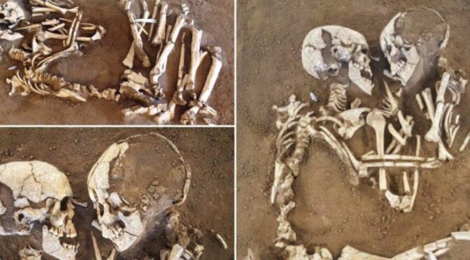 The Lovers of Valdaro: for 6,000 years, a pair of skeletons had been locked in an eternal embrace