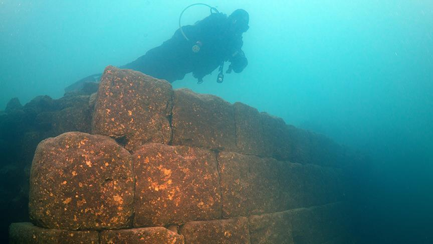 A Mysterious 3,000-Year-Old Castle Has Been Found Under a Lake in Turkey