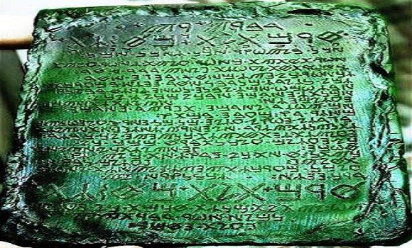 Emerald Tablets Of Thoth, 50,000-Year-Old Tablets Reportedly From Atlantis