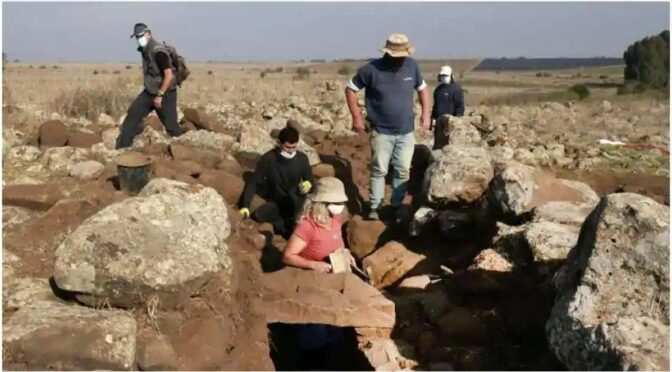 Israel uncovers King David-era fortress on Golan Heights