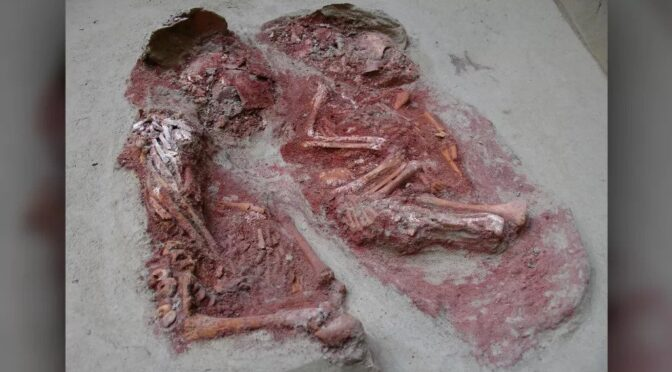 31,000-year-old burial holds the world's oldest known identical twins