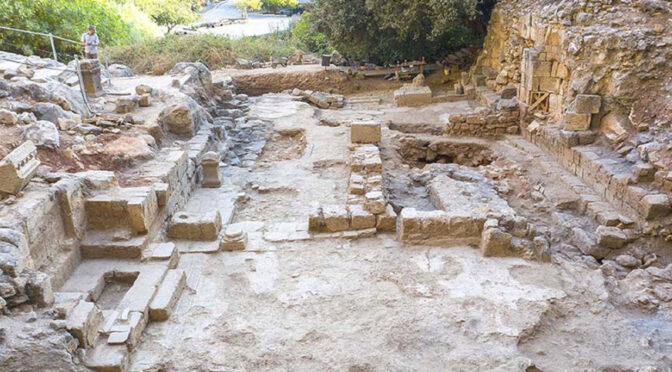 """Researchers have unearthed an ancient church -- believed to be the site of a biblical """"miracle"""" -- in Israel."""