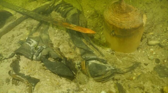 Over 500 years ago middle Ages The corpses of soldiers settled on the bottom of a lake in Lithuania and were hidden under mud for centuries. Well, those submerged ruins have finally been discovered.