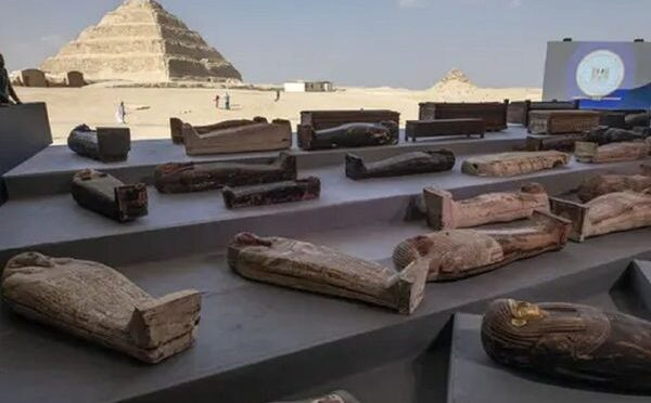 Nearly 100 coffins buried over 2,500 years ago found in Egypt